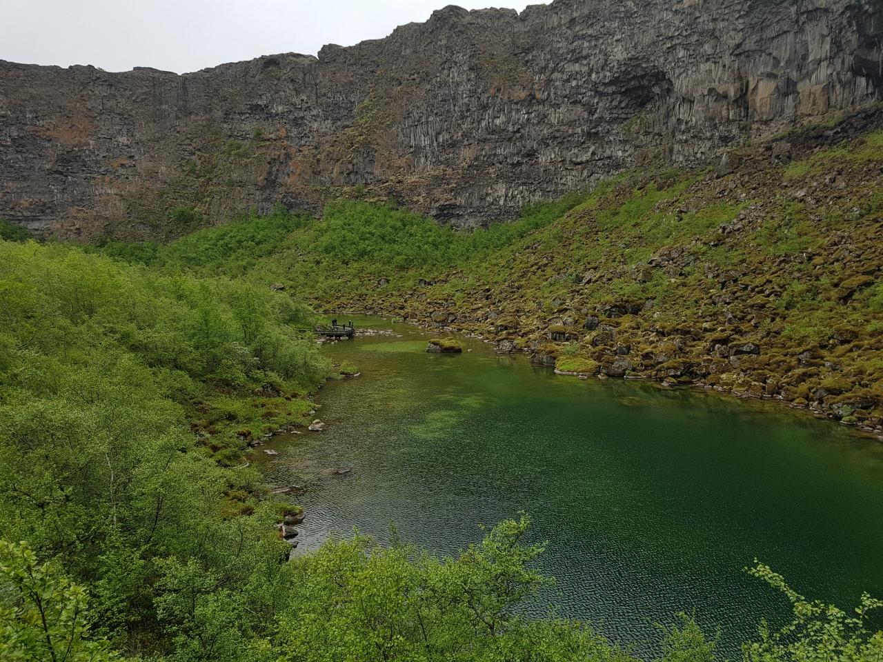 """5-) ISLÂNDIA – road trip – de campervan de Egilsstaði até Mývatn. """"DiamondCircle""""."""