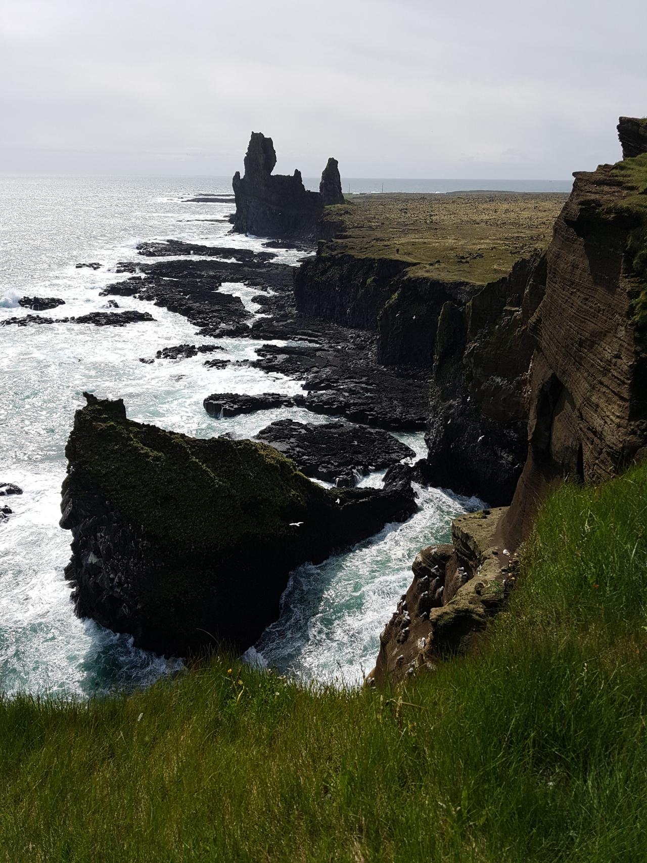 "8-) ISLÂNDIA – ROAD TRIP – de ""camper"" – de Borgarfjörðu atéSnæfellsnes."